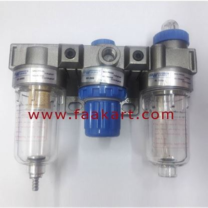 "Picture of AC2000 Air Filter Regulator Lubricator 1/4"""