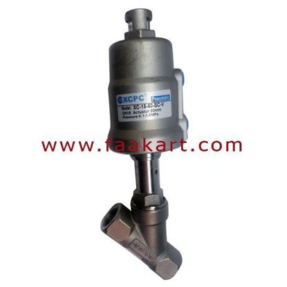 Picture of Angle Set Valve XC 15-50-SC-V Series Stainless Steel