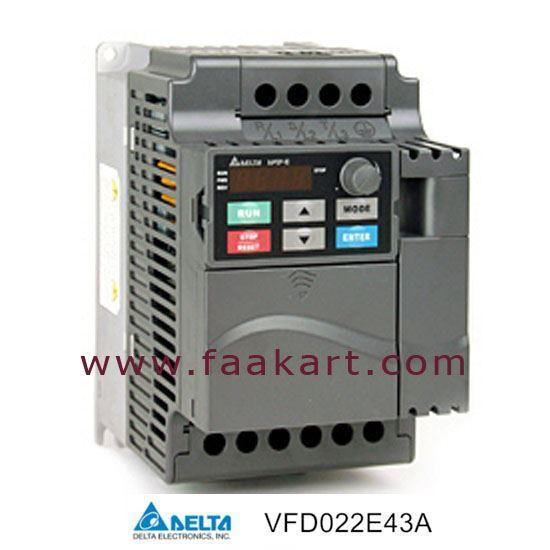 Picture of Delta VFD022E43A - VFD Inverter