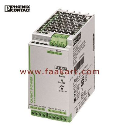 Picture of QUINT-PS/3AC/24DC/20 (2866792) Phoenix Contact  Power Supply