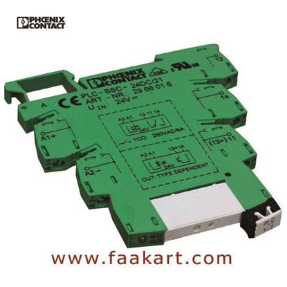 Picture of 2966016 PLC-BSC-24DC/21  Phoenix Contact Relay Socket