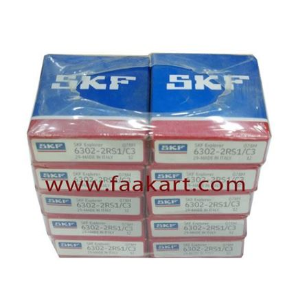 Picture of 6302-2RS1/C3  SKF Deep Groove Ball Bearing
