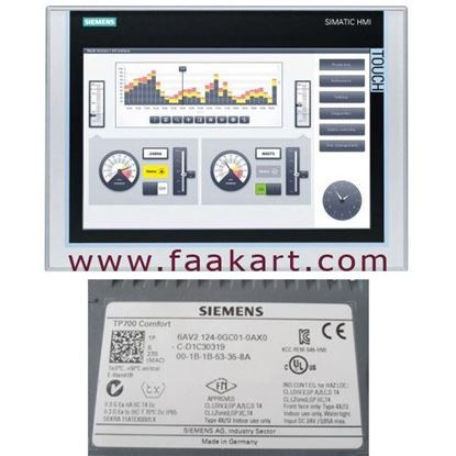 Picture of 6AV2124-0GC01-0AX0 - Siemens Touch Screen HMI Panel