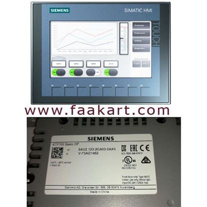 Picture of 6AV2123-2GA03-0AX0 - Siemens Touch Screen HMI Panel