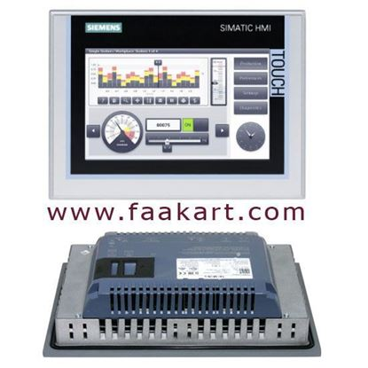 Picture of 6AV2124-0JC01-0AX0 - Siemens Touch Screen HMI Panel