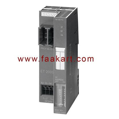 Picture of 6ES7151-1AA06-0AB0 - SIMATIC DP, Interface module IM 151-1 Standard for ET 200S