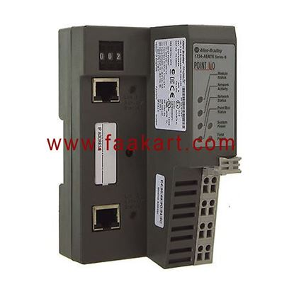 Picture of 1734-AENTR Allen Bradley POINT I/O 2 Port Ethernet Adapter