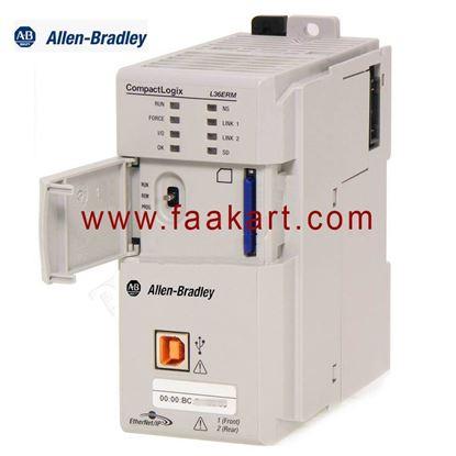 Picture of 1769-L36ERM Allen Bradley CompactLogix 5370 L3 Ethernet Processor Module