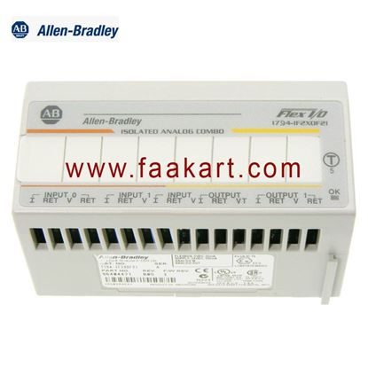 Picture of 1794-IF2XOF2I Allen Bradley I/O Module, 2 Isolated, Analog Inputs