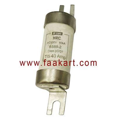 Picture of 40A HRC FUSE AC550V 80kA TIS 40Amp