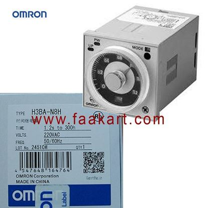 Picture of H3BA-N8H - Omron ON Delay Single Timer Relay