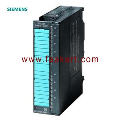 Picture of 6ES7331-7SF00-0AB0 -  SIMATIC S7, analog input SM 331
