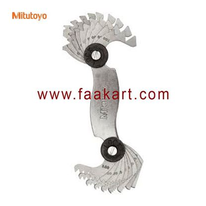 Picture of 188-121 Mitutoyo  Screw Pitch Gage, 0.4mm to 7mm