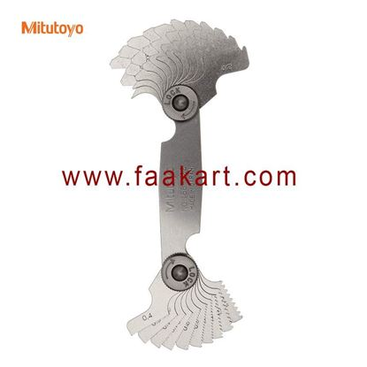 Picture of 188-122 Mitutoyo  Screw Pitch Gage, 0.4mm to 7mm,