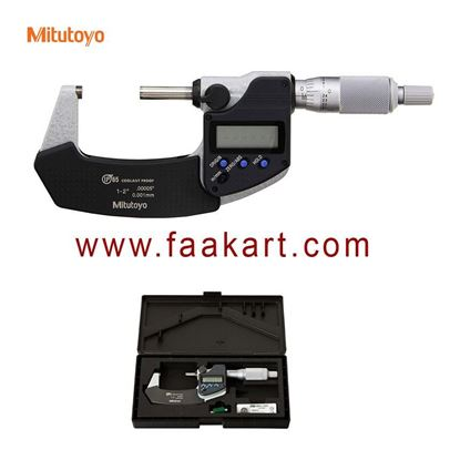 """Picture of 293-341-30 Mitutoyo Outside Digital Micrometer, 1-2 """""""