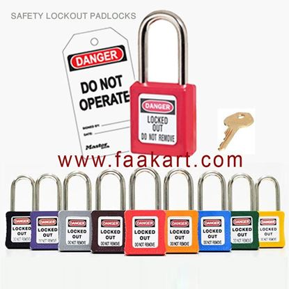Picture of SAFETY LOCKOUT PADLOCKS