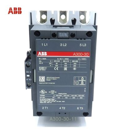 Picture of A300-30-11-55 ABB Contactor 600V AC, 60 Hz  Coil