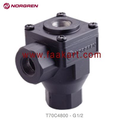 "Picture of T70C4800 Norgren Exhaust Valve 1/2"" - BSPP"