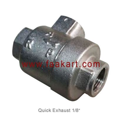 "Picture of 1/8"" Quick Exhaust Valve"