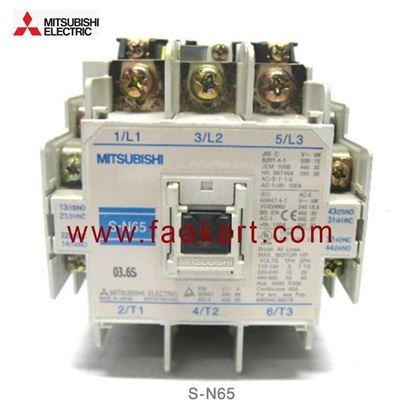 Picture of S-N65 Mitsubishi Magnetic Contractor