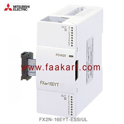 Picture of FX2N-16EYT-ESS/UL Mitsubishi PLC I/O Module