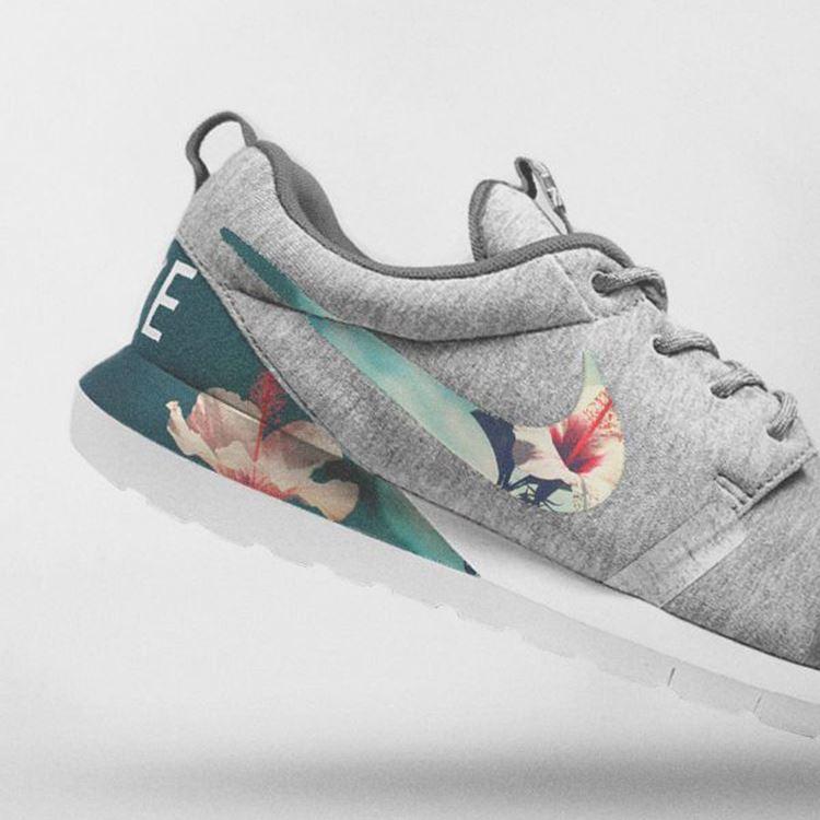 Nike Floral Roshe Customized Running