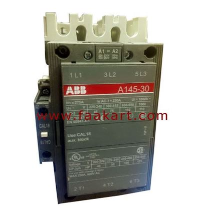 Picture of A145-30-11-80  ABB Contactor