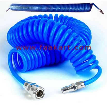 Picture of Pneumatic Spiral Coil Tube 12MM X 15MTR Blue Colour