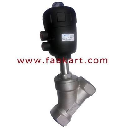 """Picture of Angle Set Valve 1 1/2"""" Size JF25 Stainless Steel DN40"""