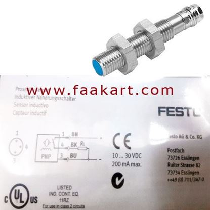 Picture of SIEN-M8B-PS-S-L - Festo Inductive Sensor 150387