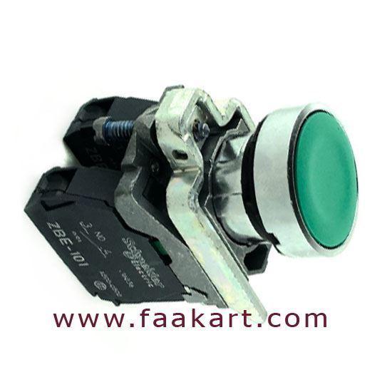 Picture of XB4BA31 - Schneider  Green Push Button