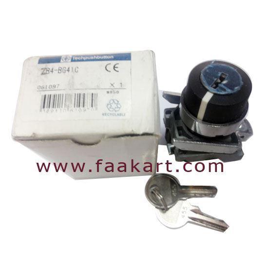 Picture of ZB4-BG41C - Telemecanique Lock Switch