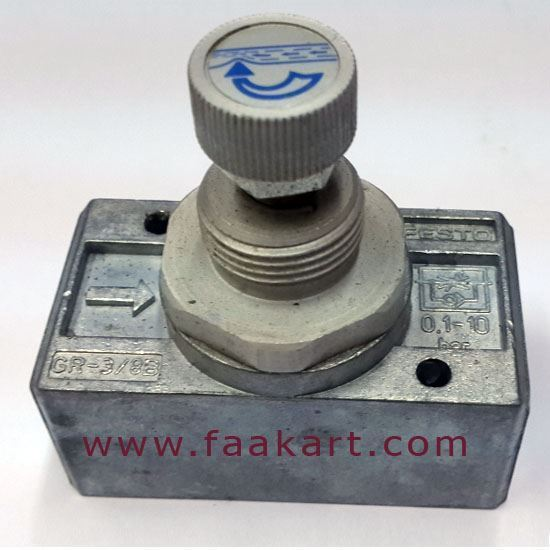 Picture of GR-3/8-B - (6308) Festo One-way Flow Control Valves