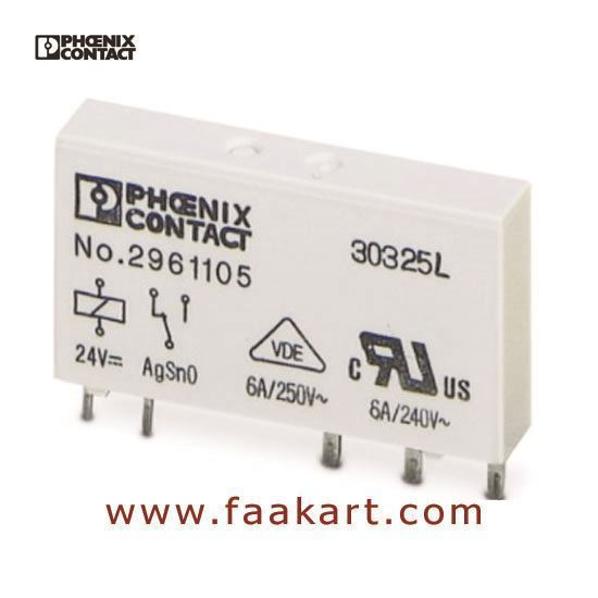 Picture of 2961105 REL-MR- 24DC/21 - Phoenix Contact Single Relay