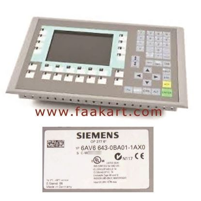 Picture of 6AV6643-0BA01-1AX0  Siemens Operator Panel