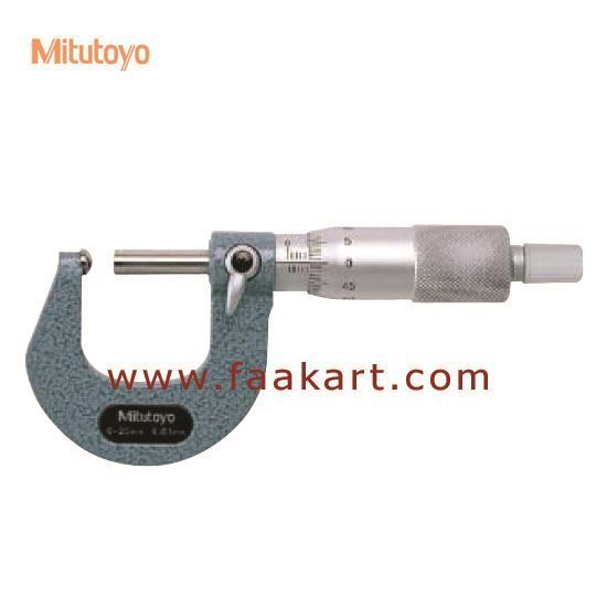 Picture of 115-115 S-F Mitutoyo 0-25mm Tube Micrometer