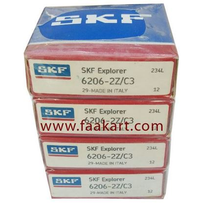 Picture of 6206-2Z/C3 SKF Deep Groove Ball Bearing