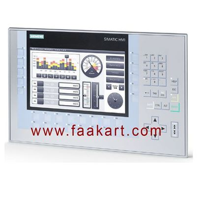 "Picture of 6AV2124-1GC01-0AX0 - SIMATIC HMI KP700 Comfort, Comfort Panel, key operation, 7"" widescreen TFT display,"