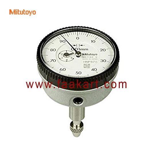 Picture of 1160T Mitutoyo  Back plunger Dial Indicator, 0.01 x 5mm