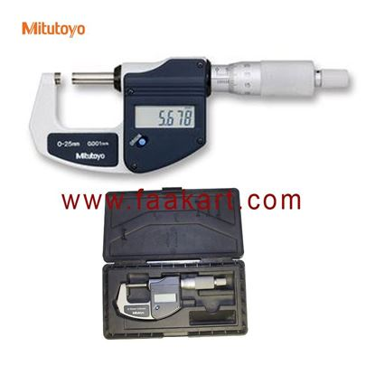 Picture of 293-821-30  Mitutoyo Digital Micrometer 25mm