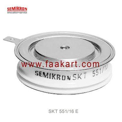 Picture of SKT 551/16 E  SEMIKRON  Thyristor