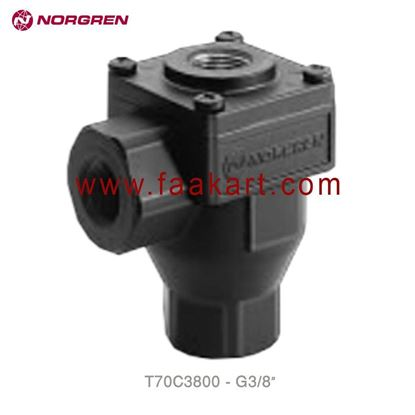 "Picture of T70C3800 Norgren Exhaust Valve 3/8"" - BSPP"