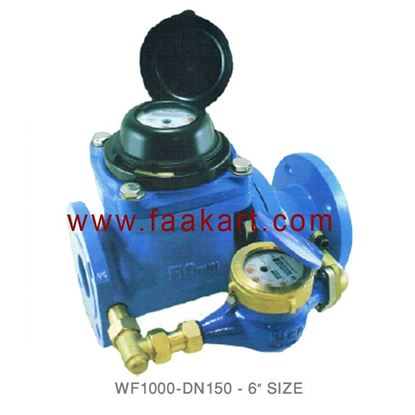 "Picture of DN150 Woltmann Water Meter WF1000  6"" Size"