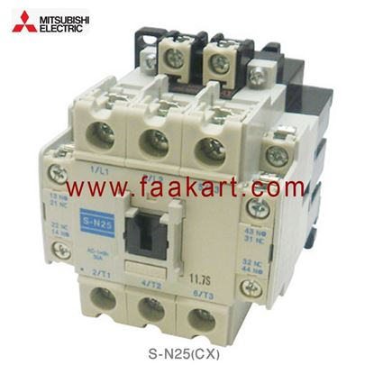 Picture of S-N25(CX) Mitsubishi Magnetic Contractor