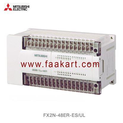 Picture of FX2N-48ER-ES/UL  Mitsubishi PLC I/O Module