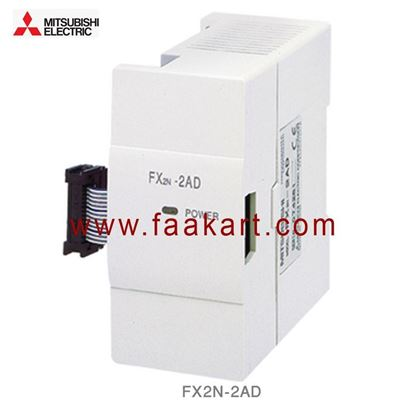 Picture of FX2N-2AD Mitsubishi PLC Expansion Module Input/Output 2 Input,