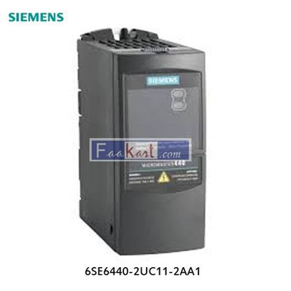 Picture of 6SE6440-2UC11-2AA1 - Siemens Inverter Drive