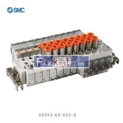 Picture of SS5Y3-60-02U-Q - SMC Manifold SY3000 type 60, 2 station