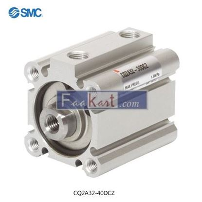 Picture of CQ2A32-40DCZ SMC Pneumatic Compact Cylinder