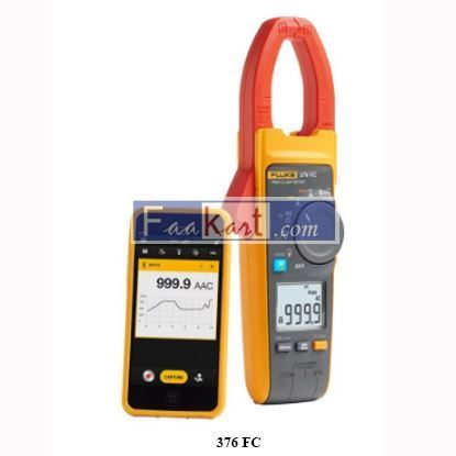 Picture of 376 FC Fluke True-RMS AC/DC Clamp Meter with iFlex